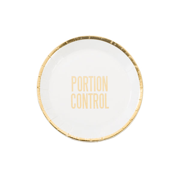 Portion Control Plate Talking Tables - Cork Collection