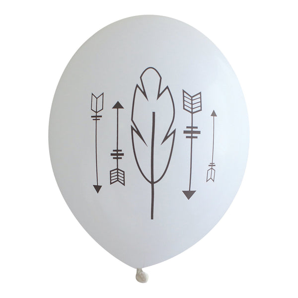 Arrows & Feathers Balloons