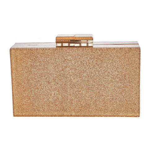 Gold Diana Clutch Fornash - Cork Collection