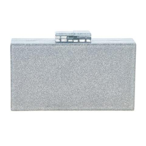 Silver Diana Clutch Fornash - Cork Collection