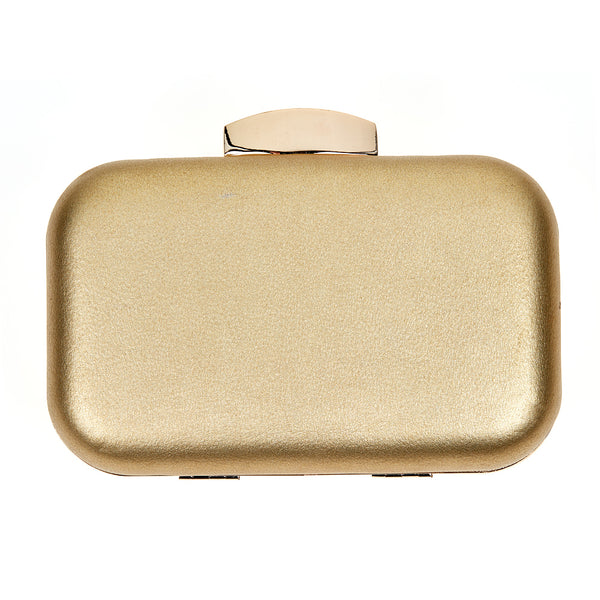 Gold Natalie Clutch Fornash - Cork Collection