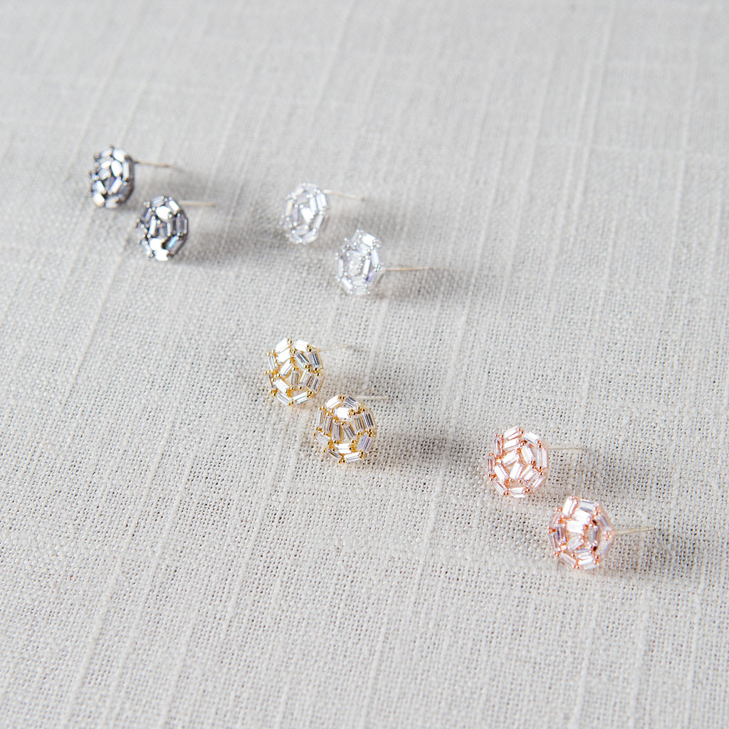 Motif Stud Earrings