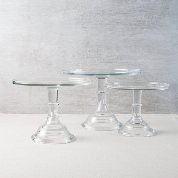 Crystal Cake Plate Mosser Glass - Cork Collection