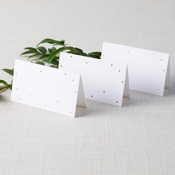 Tiny Dot Place Cards
