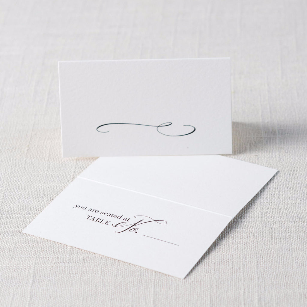 Tented Place Cards