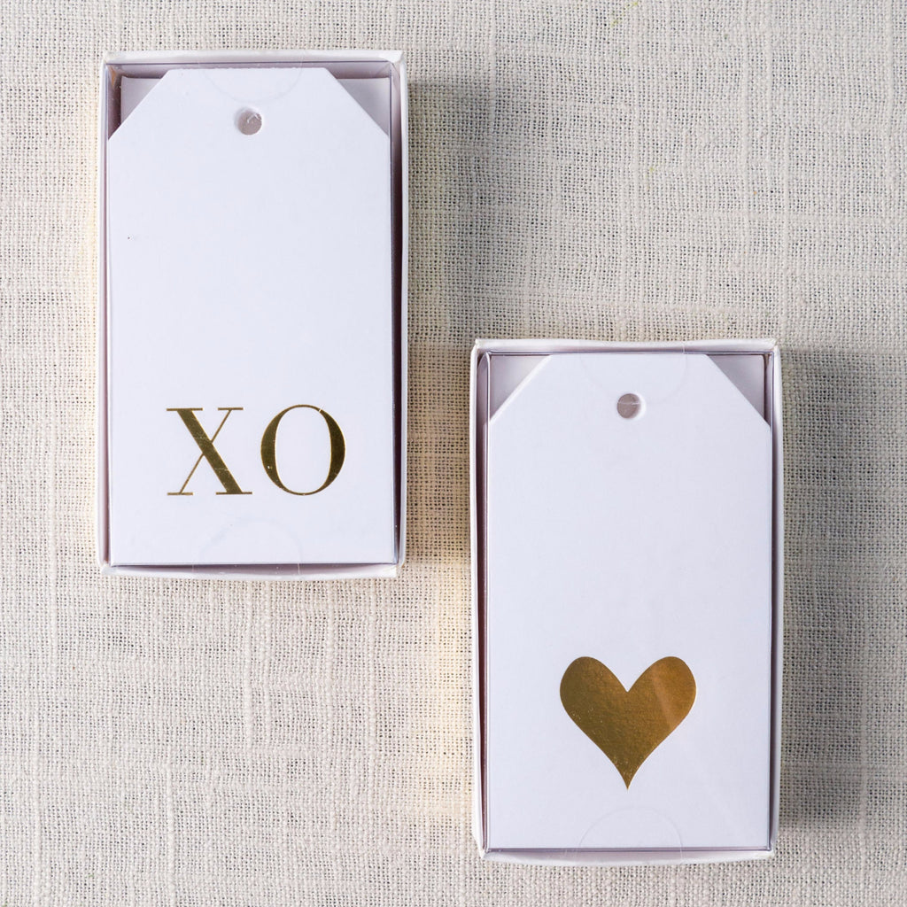 Gold Gift Tag Set Sugarpaper - Cork Collection