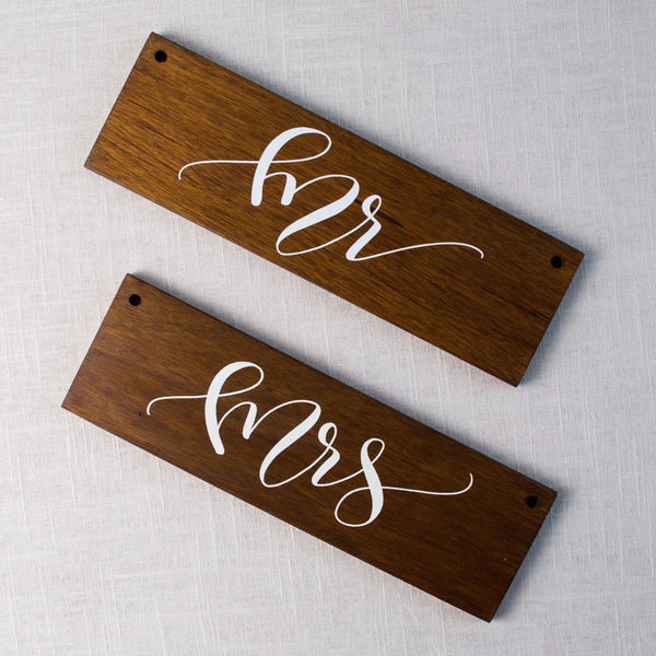 Mr & Mrs Sign Pack