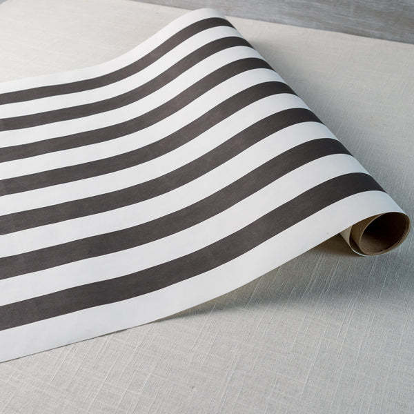 Classic Black Stripe Runner Hester & Cook - Cork Collection