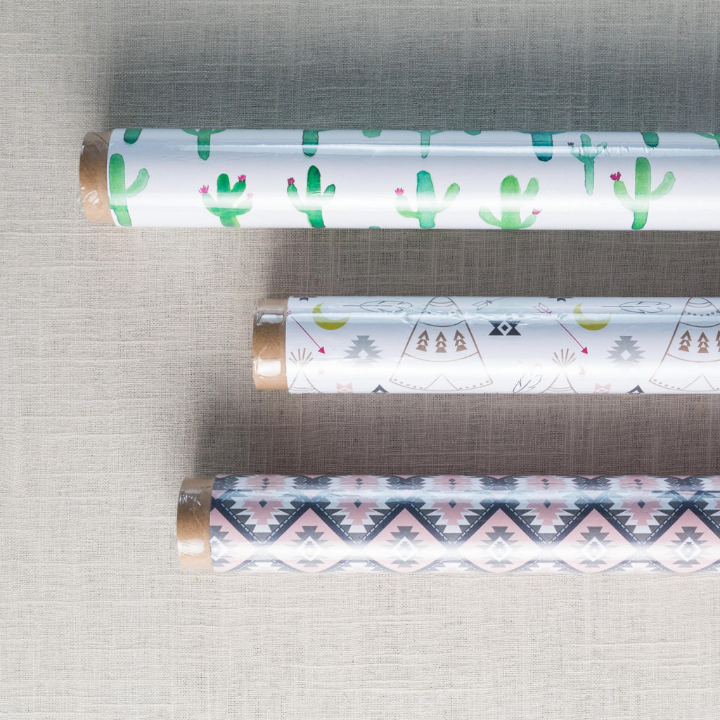 Southwest Gift Wrap Revel & Co - Cork Collection