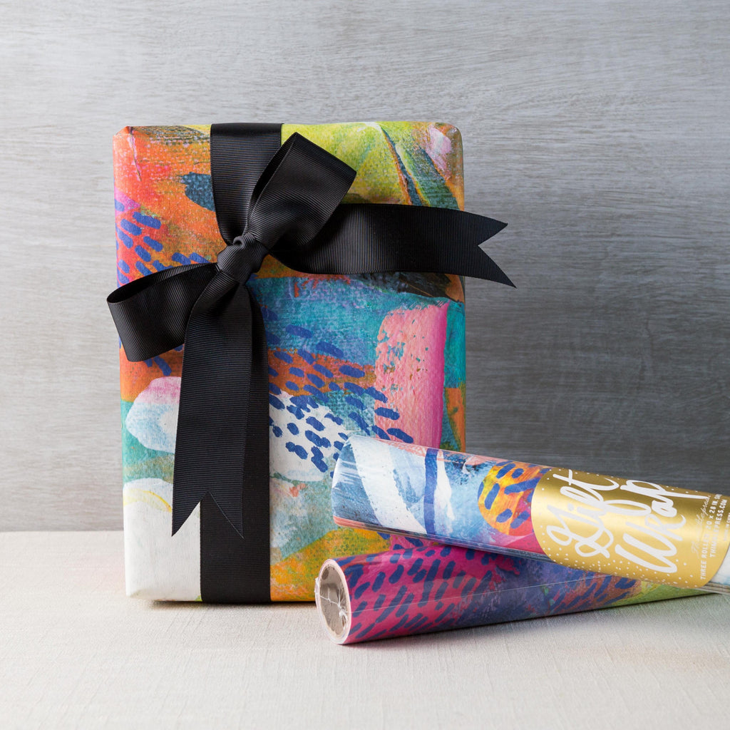 Dots & Color Gift Wrap