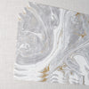 Gray & Gold Marbled Paper Placemat Hester & Cook - Cork Collection