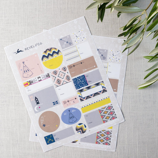 Tribal Mix Sticker Sheets