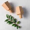 Hexagon Cork Stoppers (set of 2)