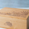 Desert Blooms Wooden Box