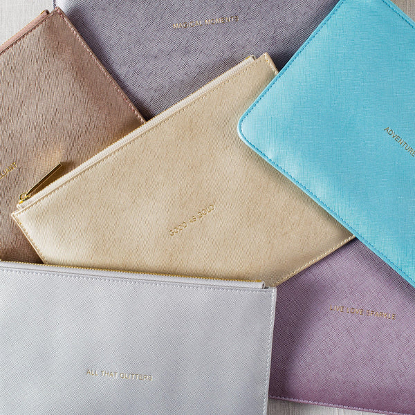 The Perfect Pouch: Metallic Collection