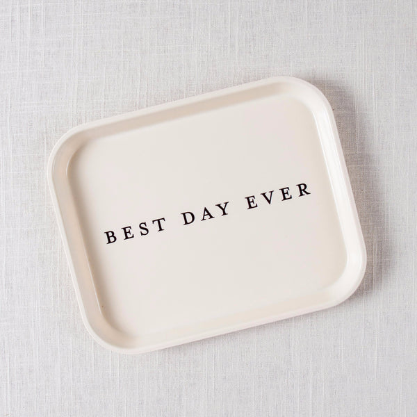 Best Day Ever Tray Izola - Cork Collection