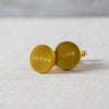 Brass Cufflinks Izola - Cork Collection