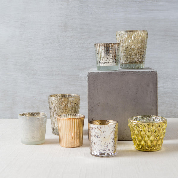 Assorted Votives BIDKhome - Cork Collection