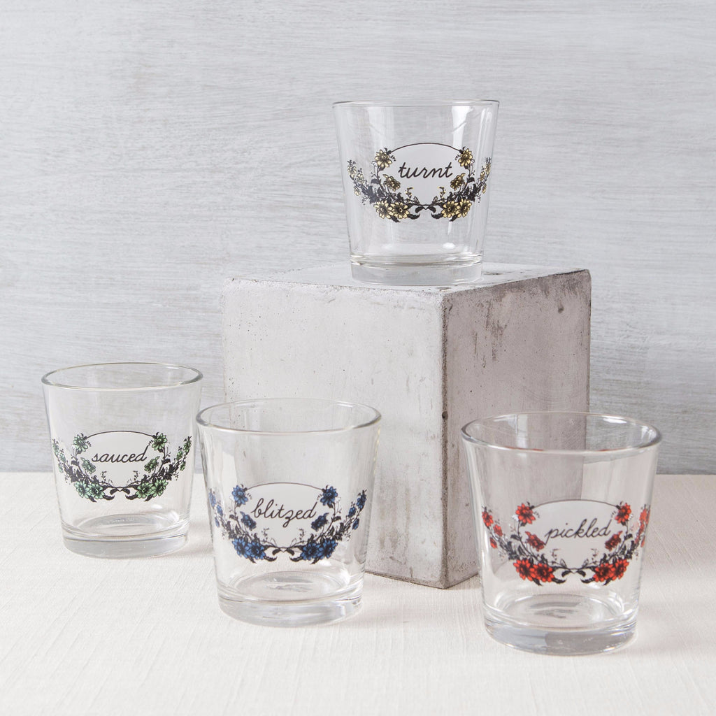 Under the Influence Glass Set