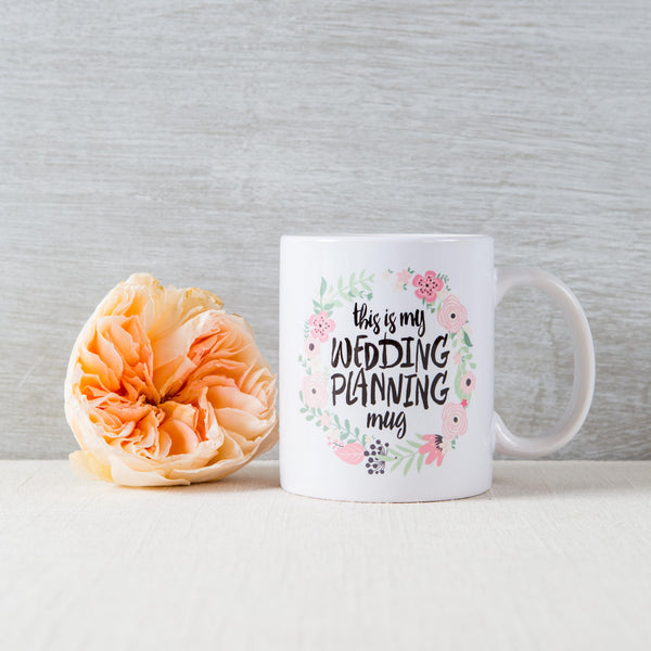Wedding Planning Mug Z Create Design - Cork Collection