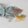 Laurel Leaf Mini Combs Acute Designs - Cork Collection
