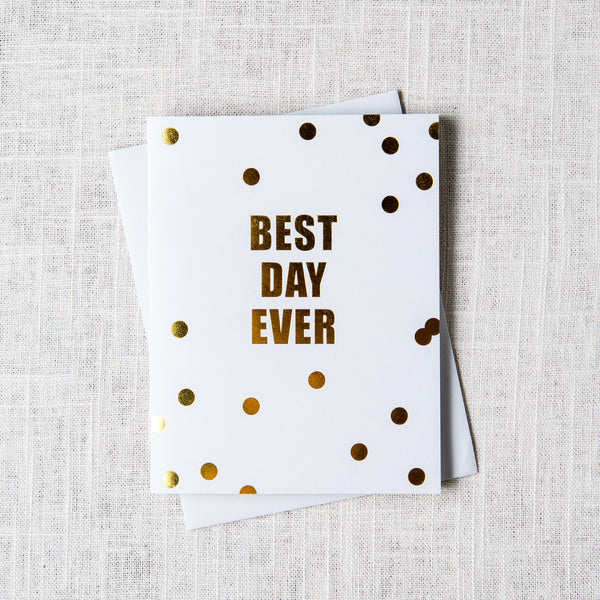 Best Day Ever Card Sugarpaper - Cork Collection