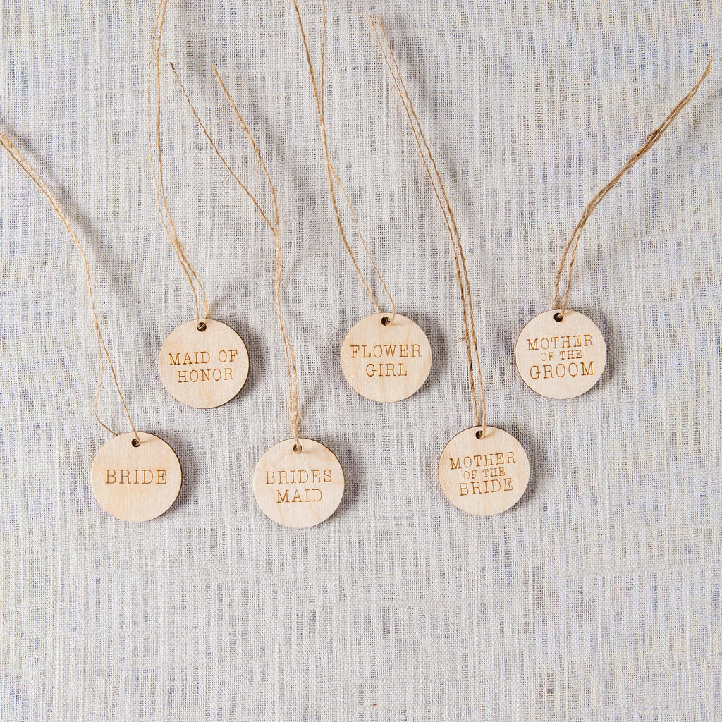 Wooden Bouquet Charms Z Create Design - Cork Collection