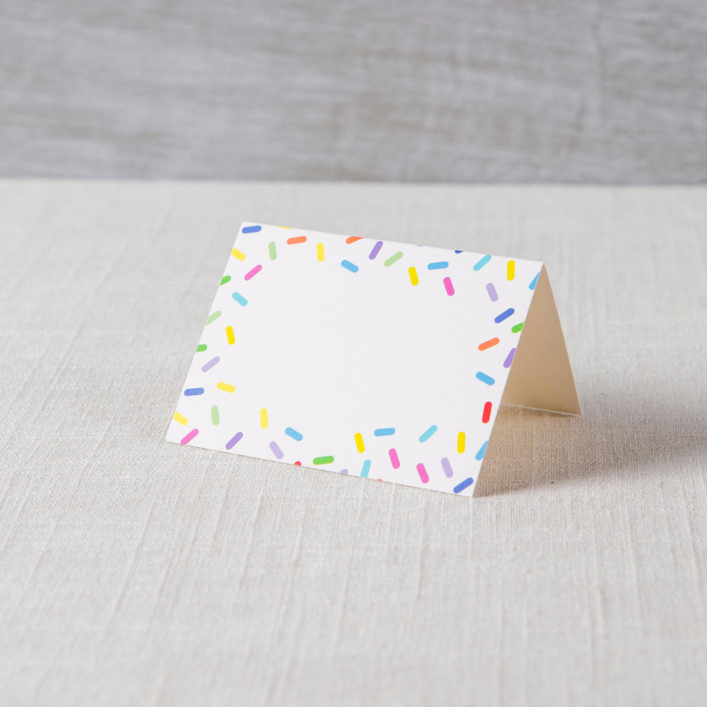 Sprinkles Place Card Hester & Cook - Cork Collection