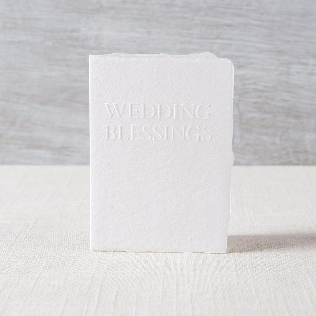 Wedding Blessings Card Oblation Papers & Press - Cork Collection