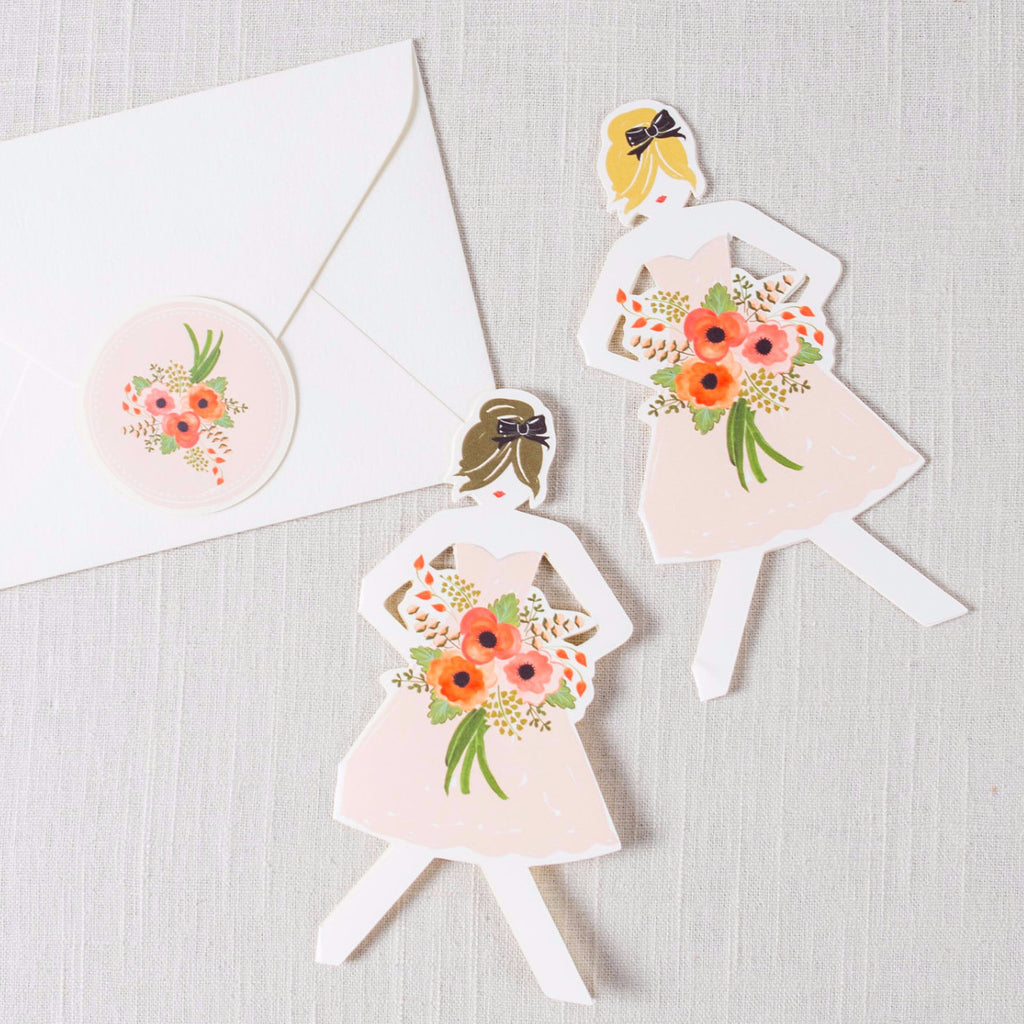 Paper Doll Card