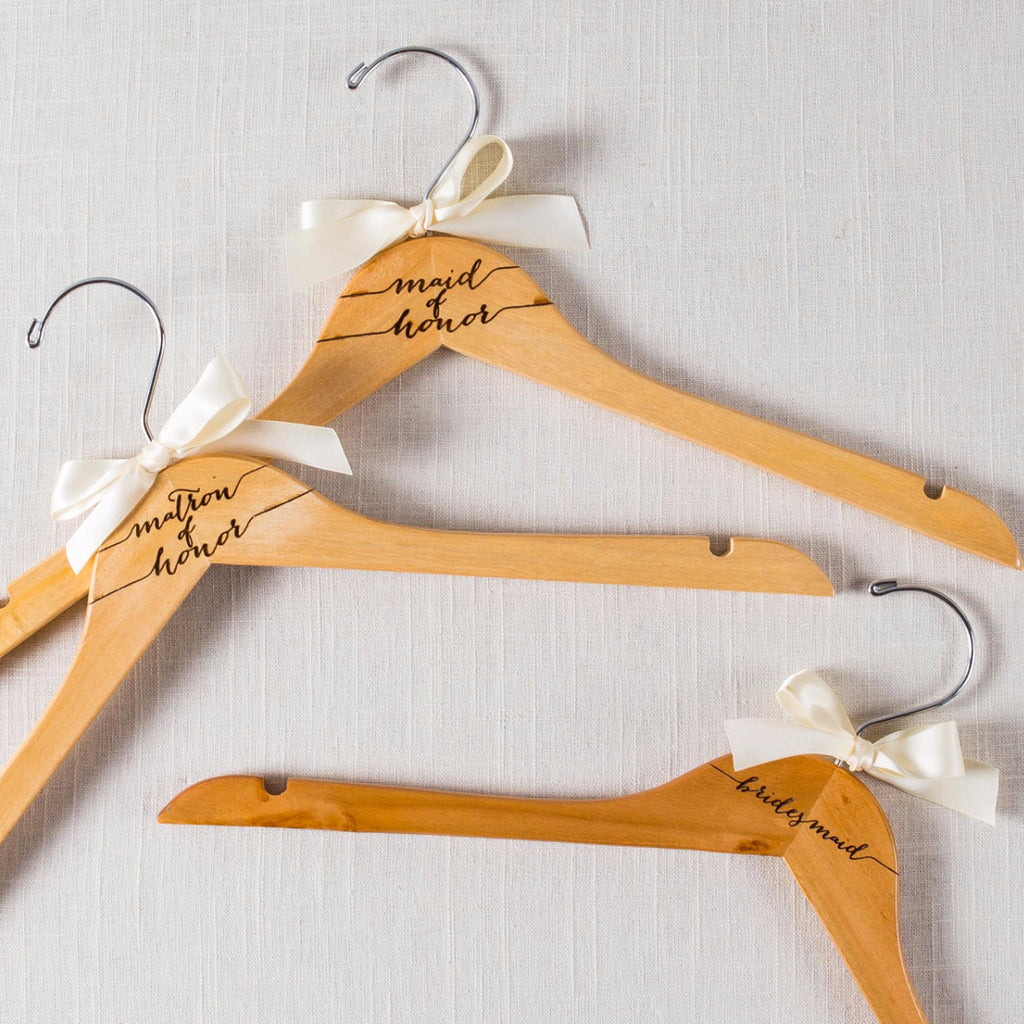Bridal Party & Mother Hangers