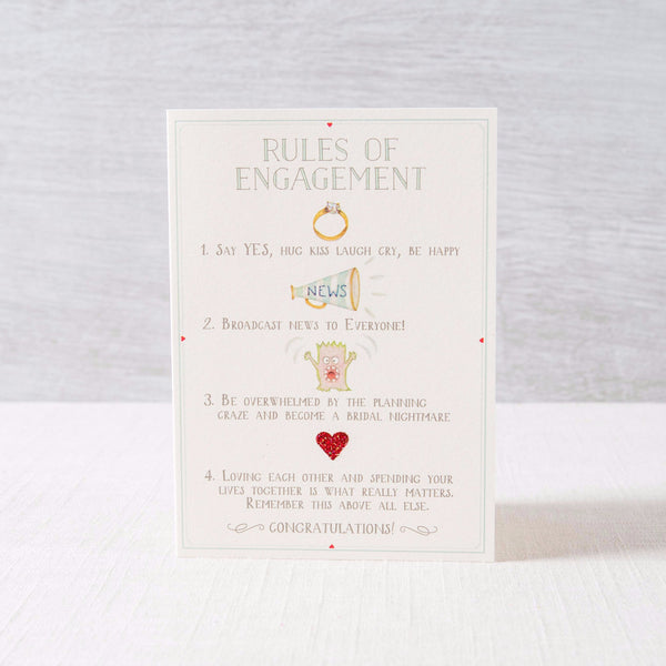 Rules of Engagement Greeting Card