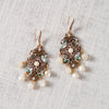 Adina Chandelier Drop Earrings Theia - Cork Collection