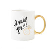 I Said Yes! Gold Coffee Mug