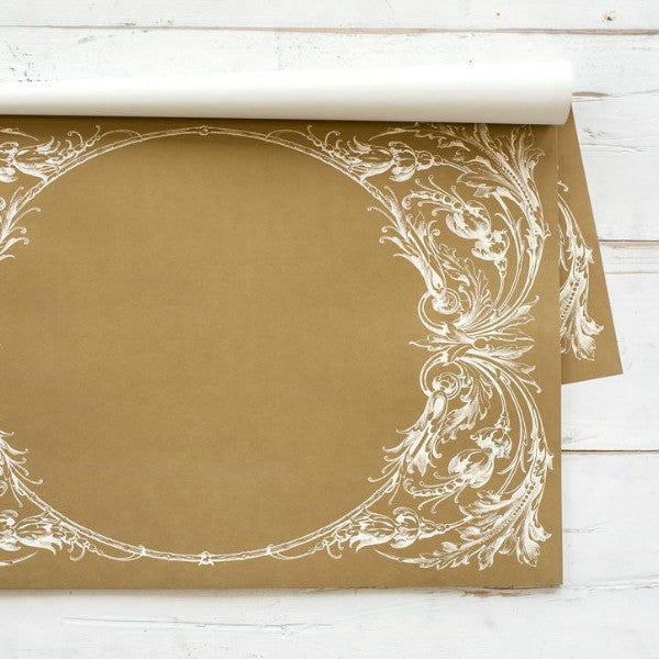 Gold Italian Scroll Placemat Hester & Cook - Cork Collection