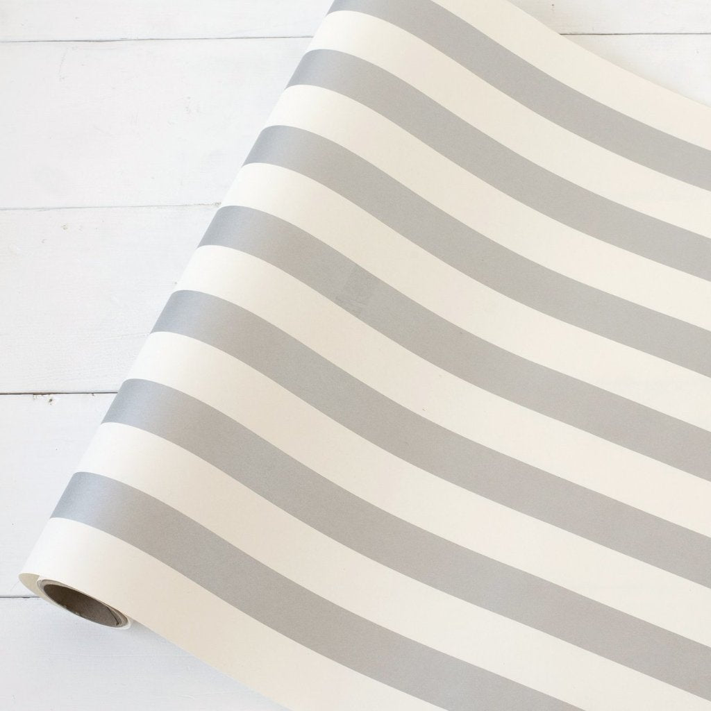 Silver Classic Stripe Runner Hester & Cook - Cork Collection