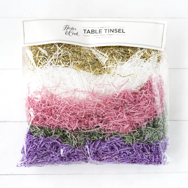 Table Tinsel Hester & Cook - Cork Collection