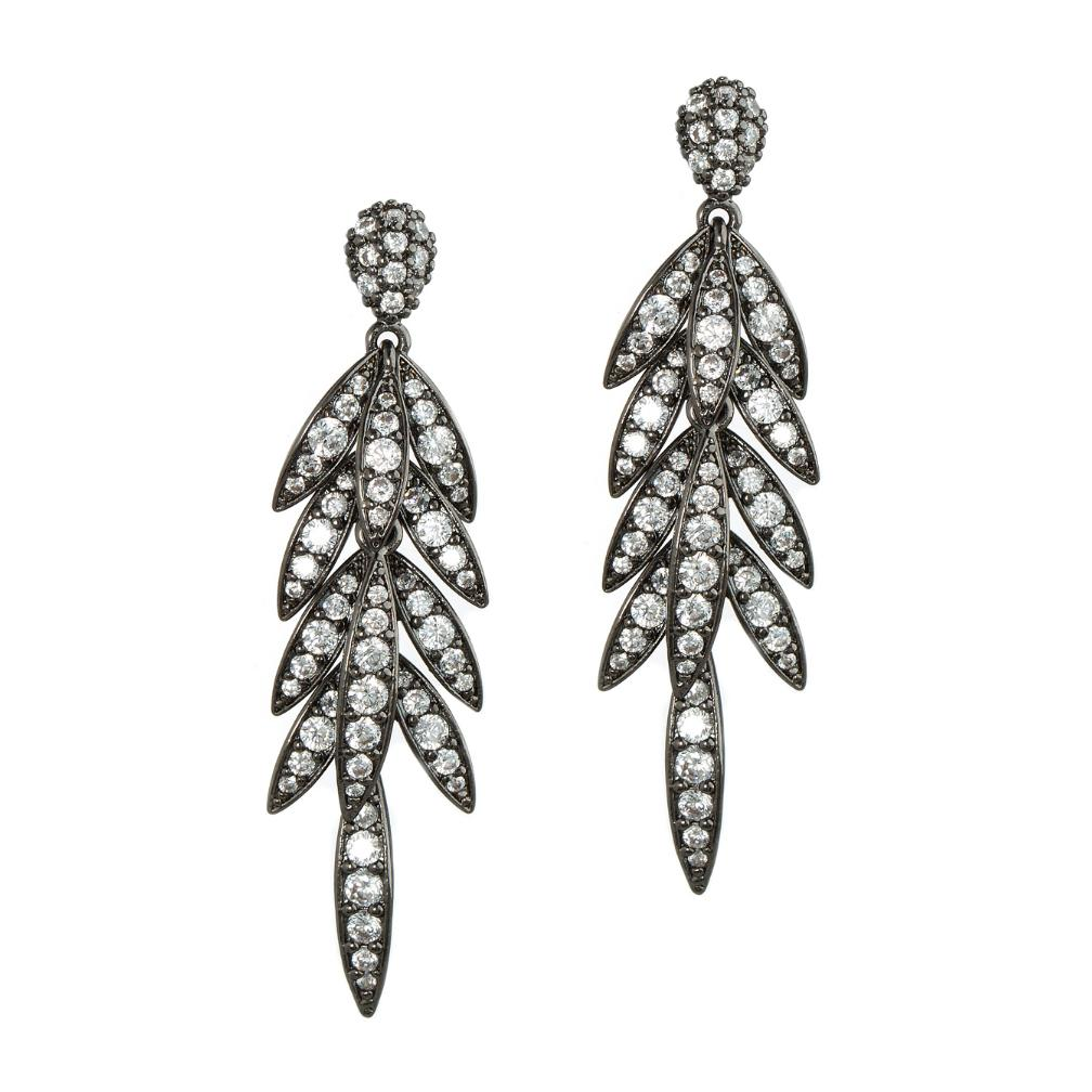 Laurel Leaf Chandelier Earrings
