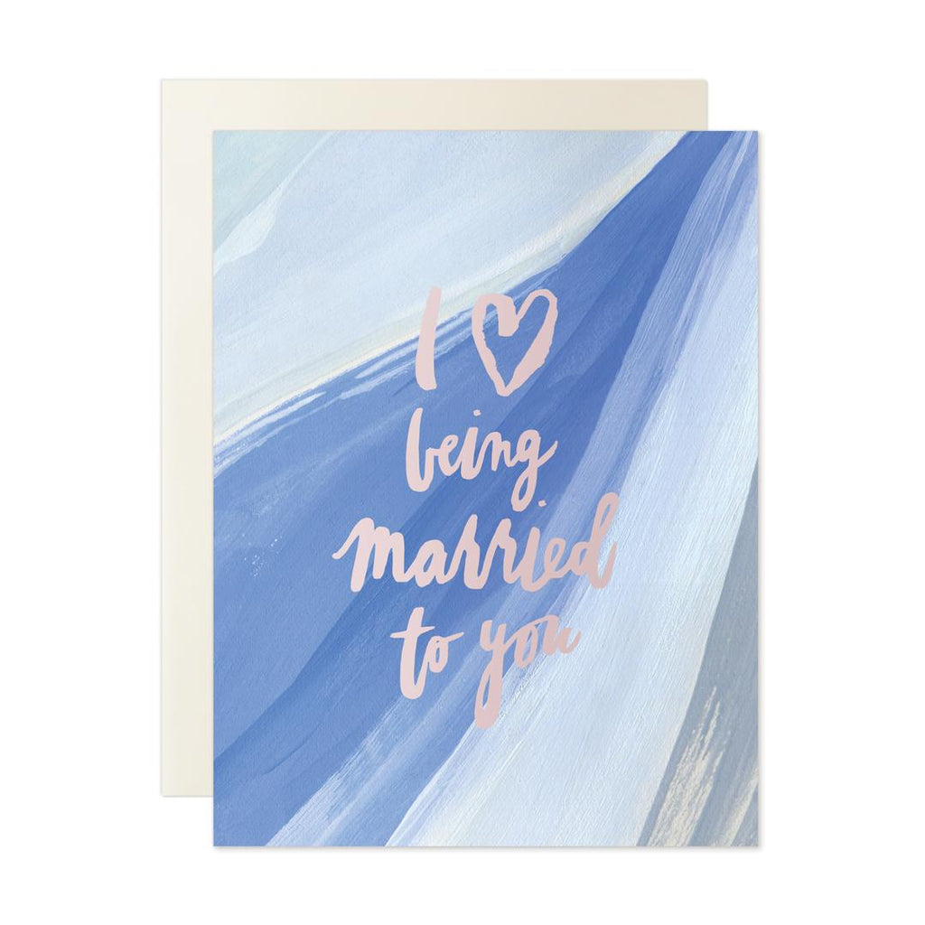 Love Being Married Card Our Heiday - Cork Collection