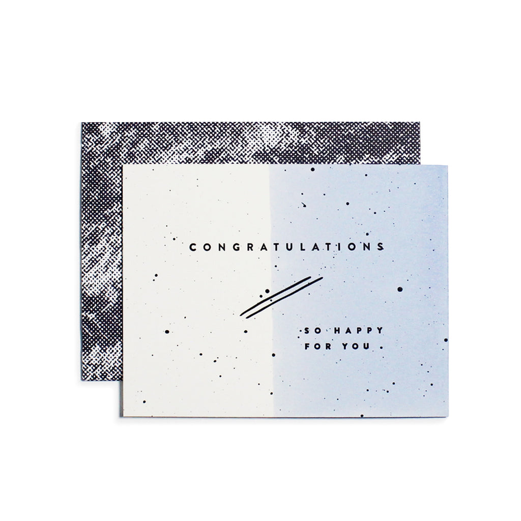 Congratulations Drip Card Moglea - Cork Collection
