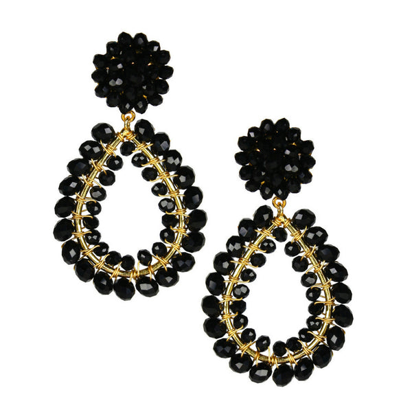 Margo Earring - Black