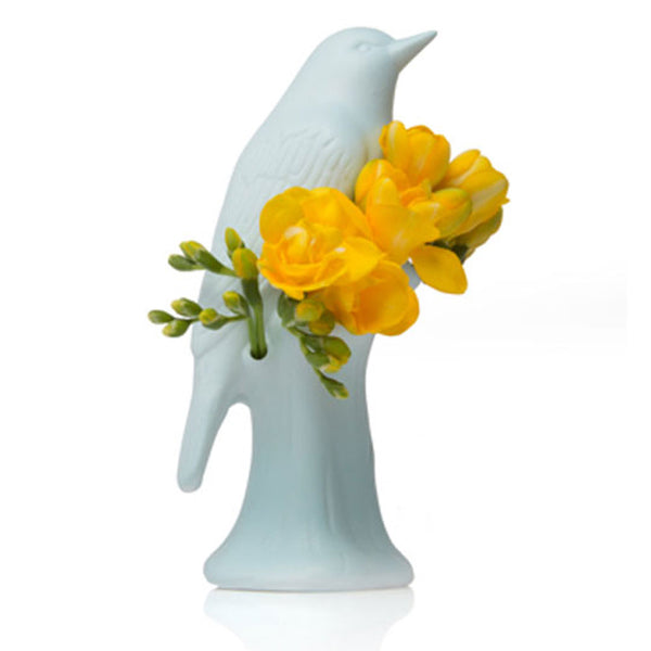 Porcelain Bird Vase