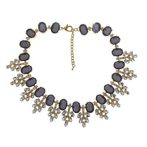 Serena Necklace - Navy Fornash - Cork Collection