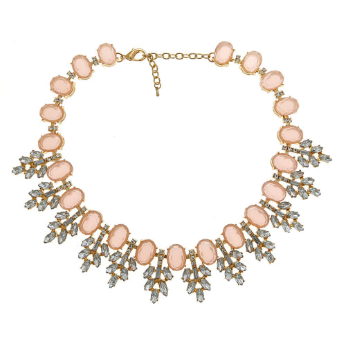 Serena Necklace - Pink Fornash - Cork Collection