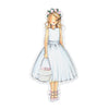 Will You Be My Flower Girl Ornament Charm CR Gibson - Cork Collection