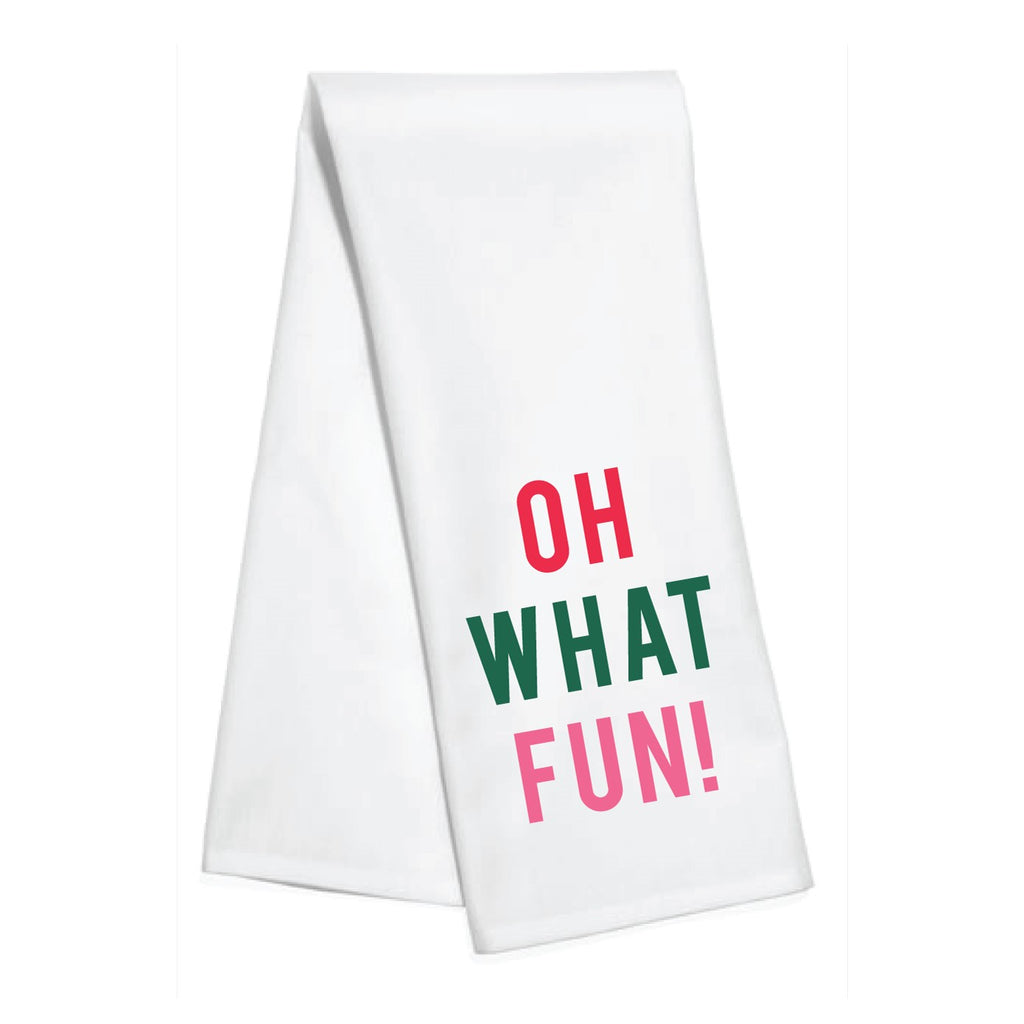 oh what fun! kitchen towel - holiday decor