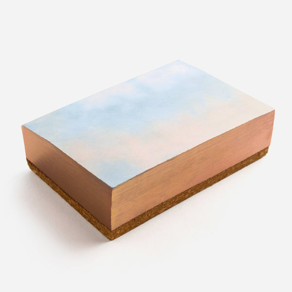 Soft Gradient Tie Dye Small Noteblock Printfresh - Cork Collection
