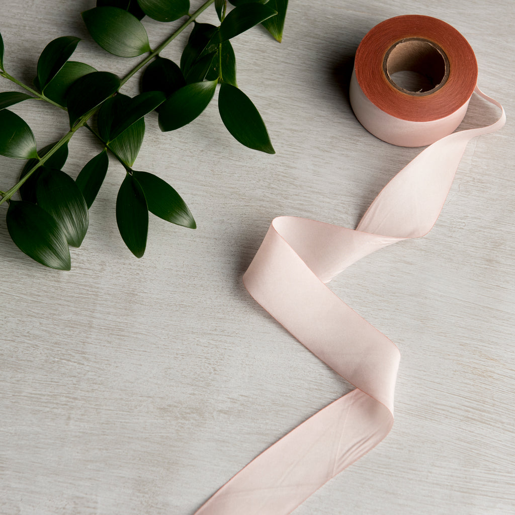 Blush Silk Ribbon Of The Earth - Cork Collection