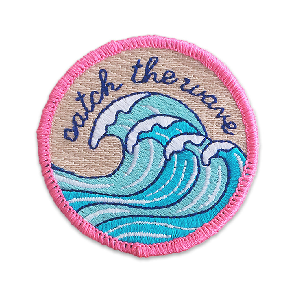Catch the Wave Patch