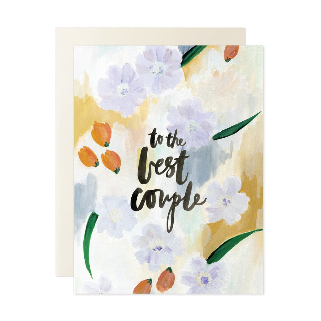 To The Best Couple Card
